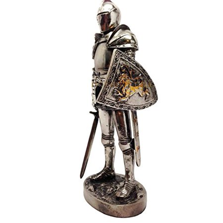Atlantic Collectibles William Marshall In Suit of Armor Medieval Knight of Chivalry Figurine