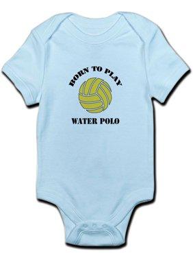 CafePress - Baby Water Polo - Baby Light Bodysuit