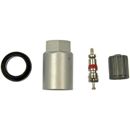 Valve Core Caps - Dorman 609-101 TPMS Service Kit, Repl Grommet, Valve Core and Cap