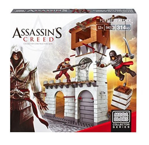 Mega Bloks Assassins Creed Fortress Attack Multi-Colored by Mega Bloks