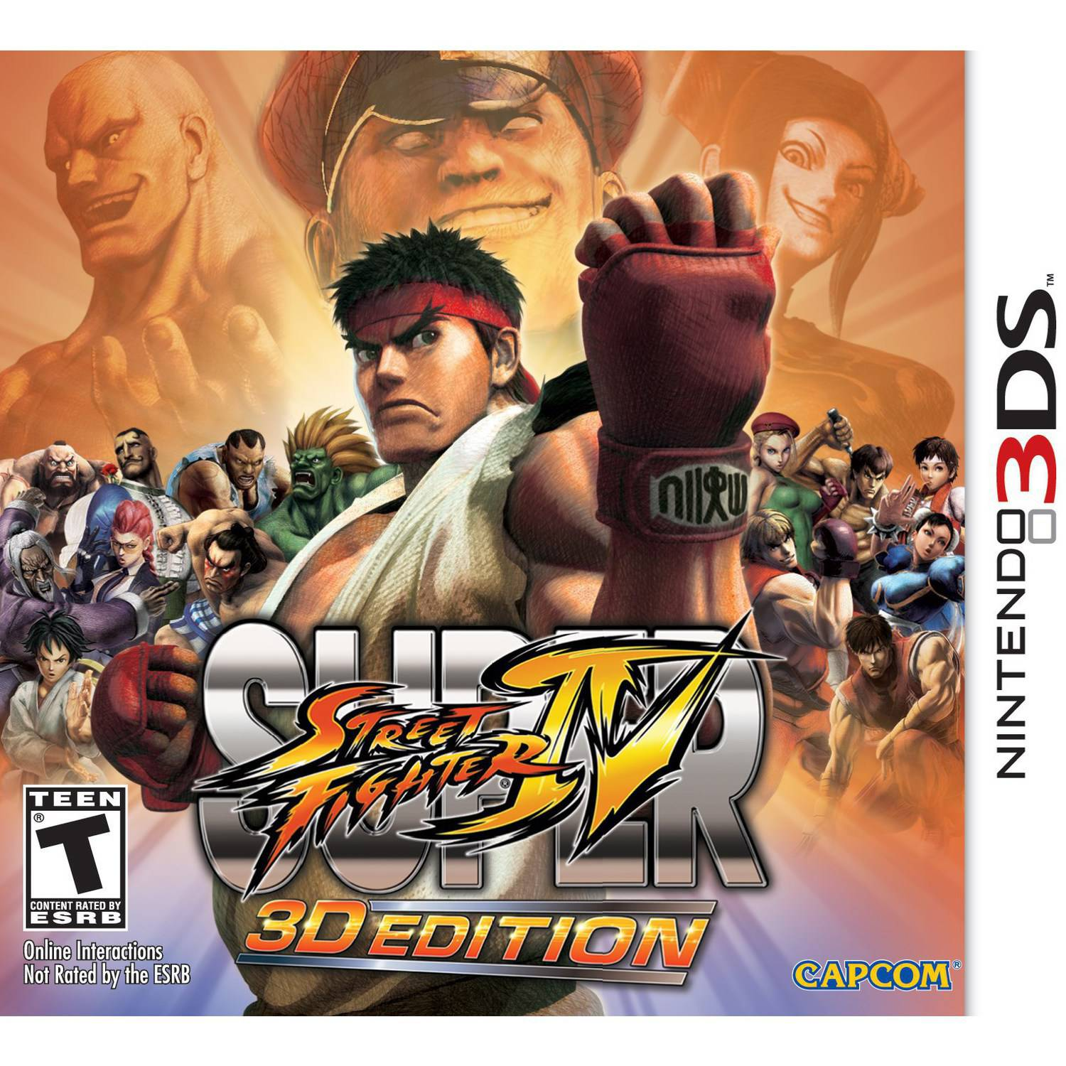 Super Street Fighter IV 3D Edition (Nintendo 3DS) - Pre-Owned