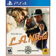 L.A. Noire, Rockstar Games, PlayStation 4, 710425479618