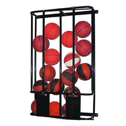 Jaypro Sports PE-240 Stackmaster Double Basketball Wall Rack