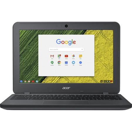 "Acer Chromebook 11 N7 C731 C731-C118 11.6"" Chromebook - 1366 x 768 - Celeron N3060 - 4GB RAM - 32GB Flash Memory Chrome OS - Gray"