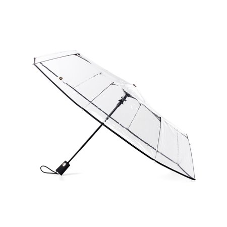 Auto Open Close Clear Umbrella