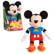 Disney Junior Mickey Mouse Singing Fun Mickey Mouse, 12-inch plush, Plush Simple Feature, Ages 3 Up, by Just Play