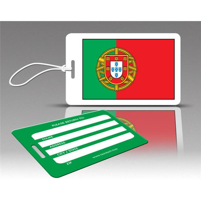 Insight Design 770580 TagCrazy Luggage Tags- Portugal Flag- Set of Three by Insight Design