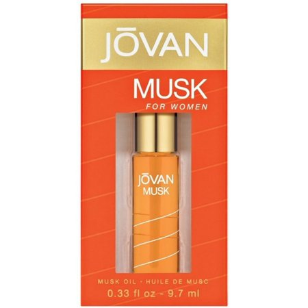 Jovan Musk Oil For Women 0.33 (Musk Perfume Oil)