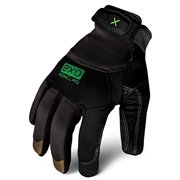 IRONCLAD EXO-MLR-04-L Large Gray TPR Puller Cuff Mechanics Gloves