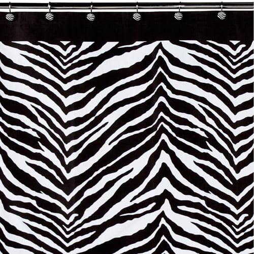 Creative Bath Zebra Shower Curtain