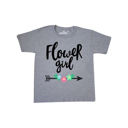 Flower Girl with Arrow and Flowers Youth T-Shirt