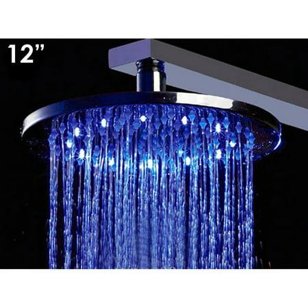 alfi led    multi color led rain shower head walmartcom