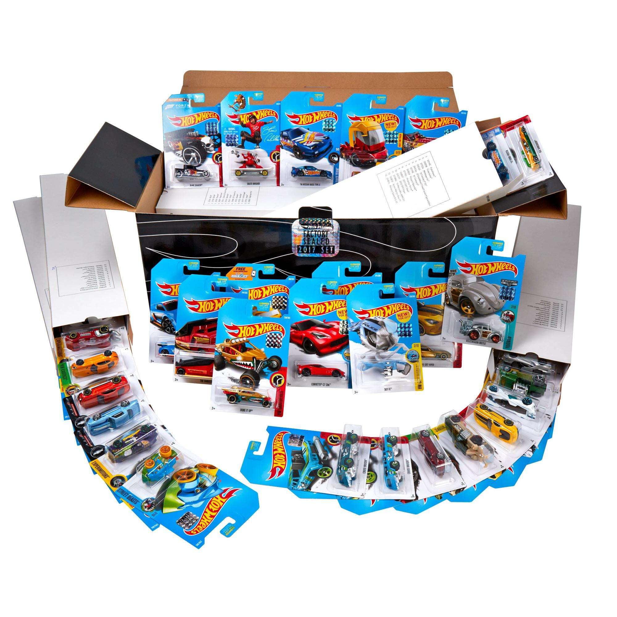 Hot Wheels Mini Set 3 by Mattel