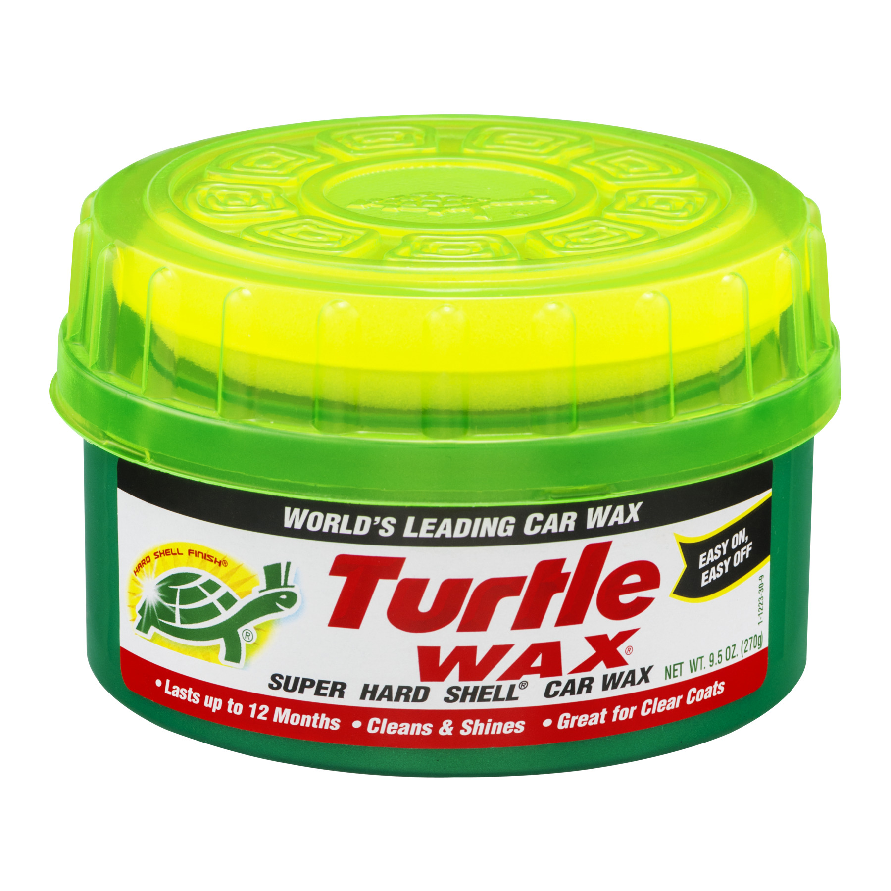 Turtle Wax Super Hard Shell Car Wax, 9.5 OZ