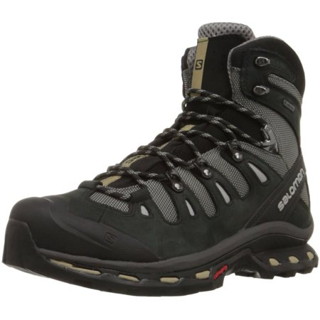 Salomon L37073100 Men's Quest 4D 2 GTX Hiking Boot, Detroit/Black/Navajo, 8 M