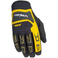 Cortech DX-3 Youth Gloves Yellow