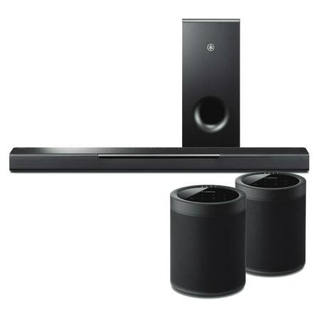 yamaha musiccast bar 400 soundbar w musiccast 20 black. Black Bedroom Furniture Sets. Home Design Ideas