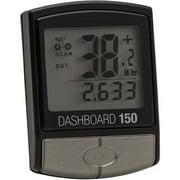 Bell Sports Dashboard 150 14-Function Cyclocomputer/Speedometer/Odometer, Black
