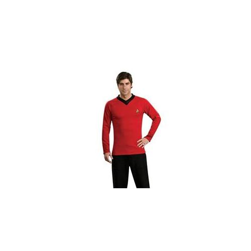 Costumes For All Occasions Ru888984Md Star Trek Classic Red Shirt Md