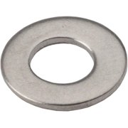 Wheels Manufacturing M4 Flat Washer Stainless Steel Bottle/100