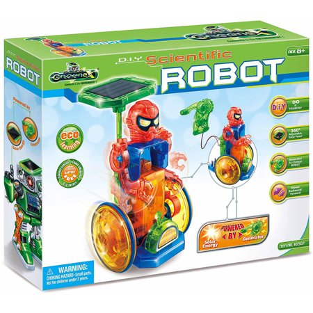 Amazing Toy Greenex D I Y  Scientific Robot Interactive Science Learning Kit