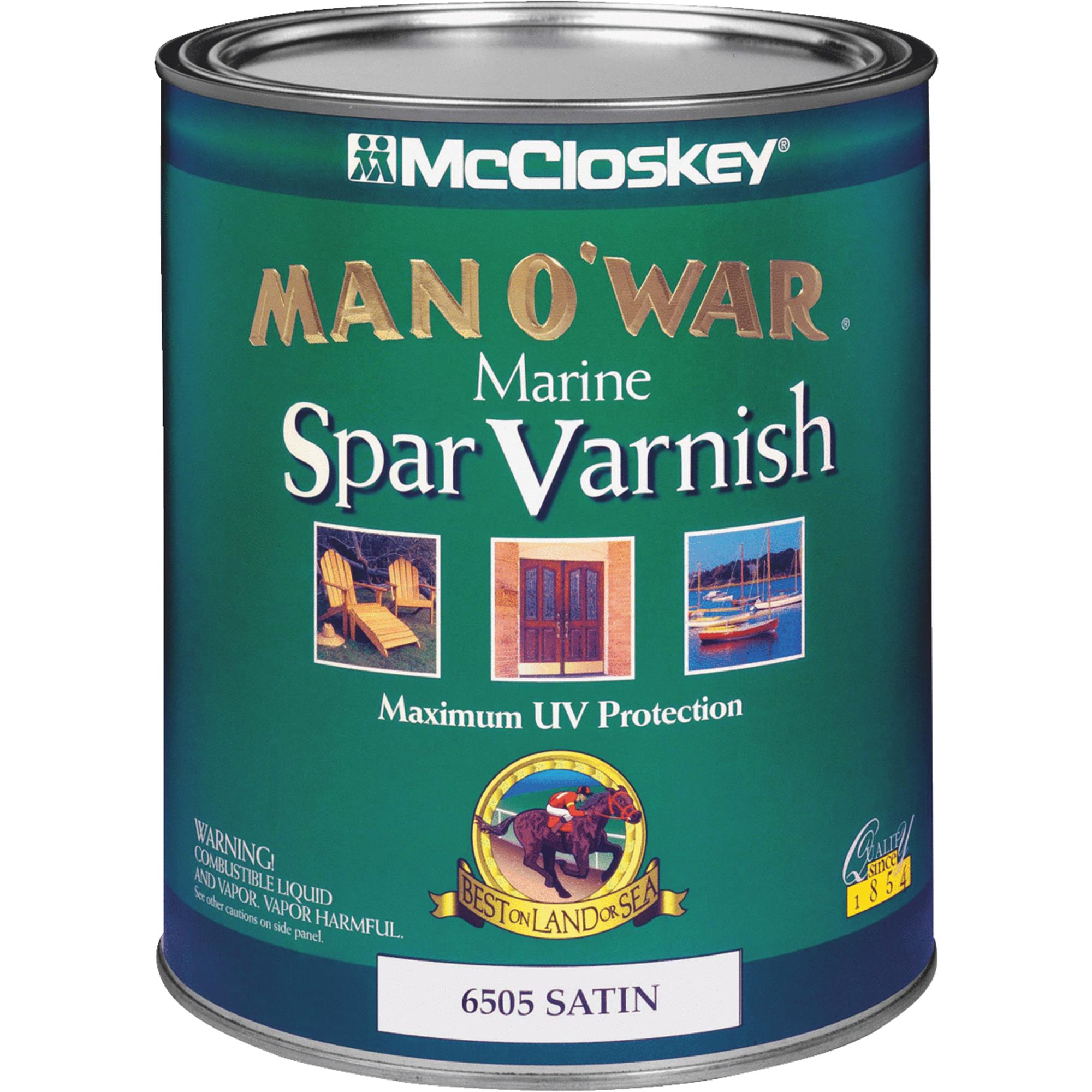McCloskey Man O'War VOC Spar Interior & Exterior Varnish