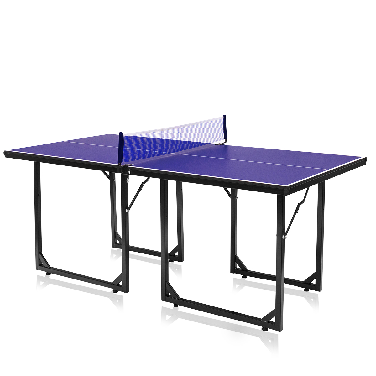 Costway Foldable Midsize Removable Compact Ping-pong Table