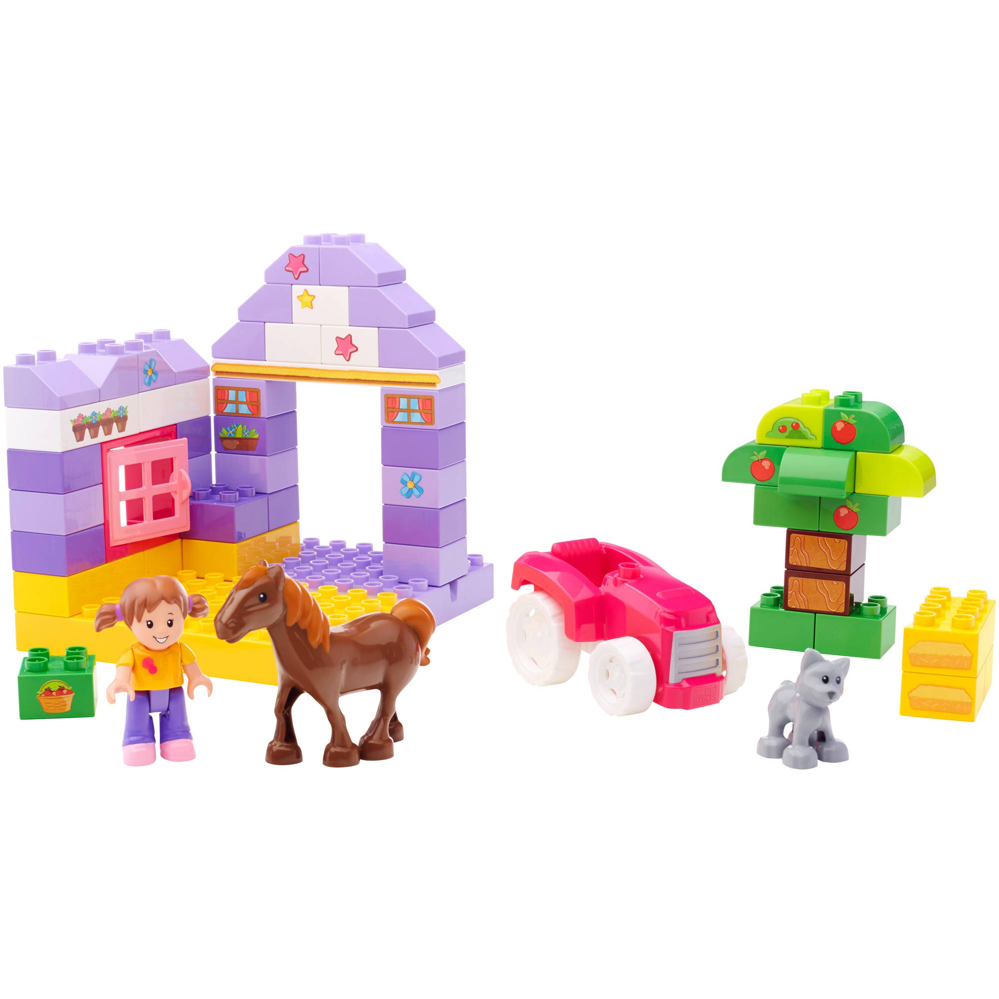 Mega Bloks Junior Builders Pretty Pony Stables