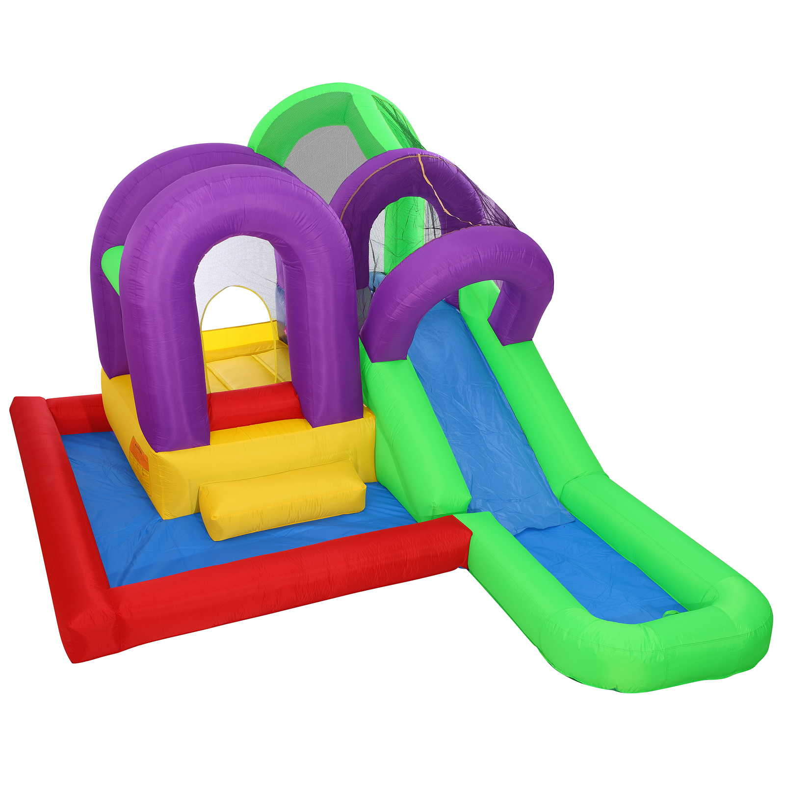 Cloud Nine Wet 'n' Slide Bounce House - Inflatable Combo ...