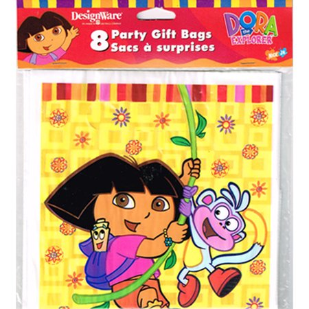 Dora the Explorer 'Fiesta' Favor Bags - Dora Birthday Party Ideas