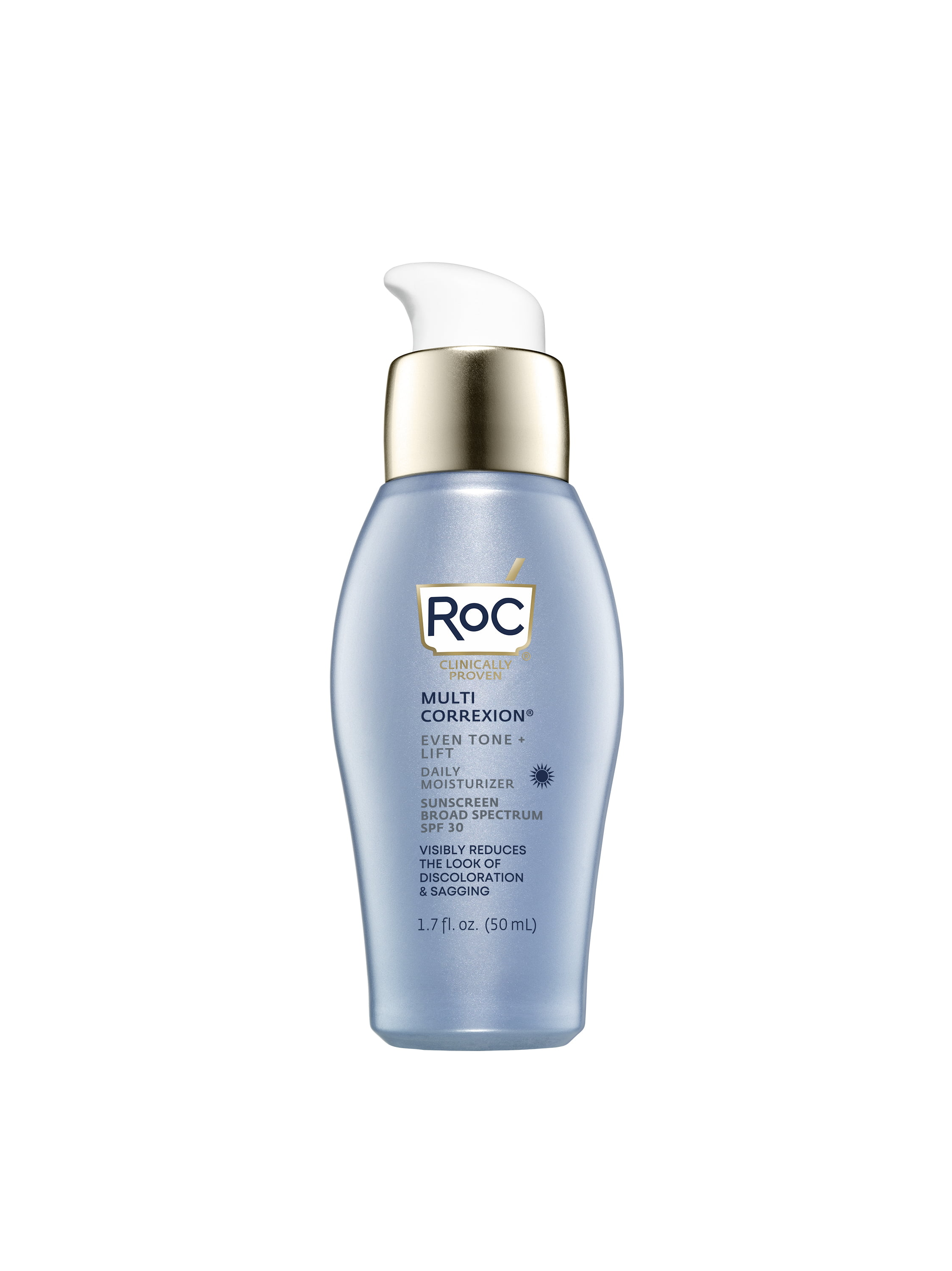 RoC Multi Correxion Even Tone + Lift Daily Moisturizer with Hexyl-R Complex Technology, Broad Spectrum SPF 30, 1 fl oz