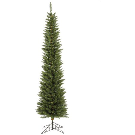 Vickerman Unlit 8.5' Durham Pole Pine Artificial Christmas (Pole Tree)