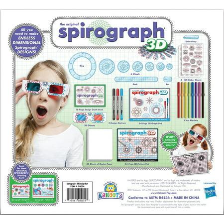 Spirograph Deluxe (Spirograph 3D Kit)