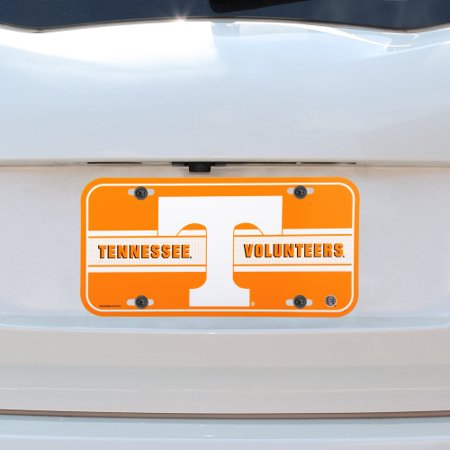 Tennessee Volunteers WinCraft Plastic License Plate - No Size