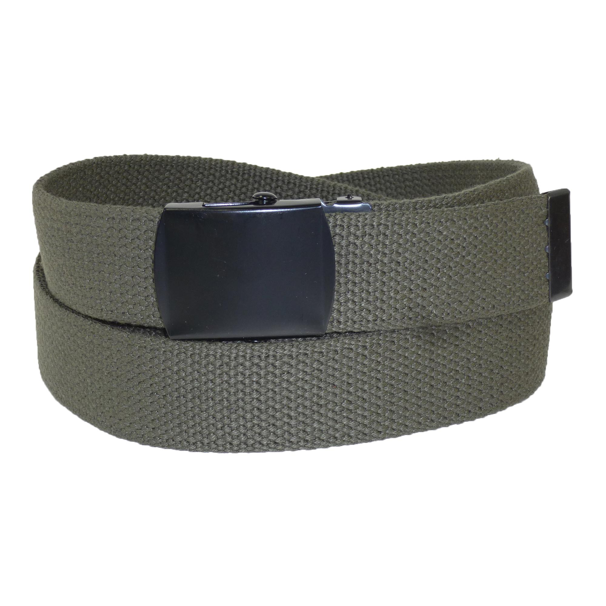 CTM Fabric Big & Tall Adjustable Belt with Black Buckle - image 1 de 1