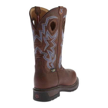 Men's Twisted X Boots MLCCM01 Lite Weight Work Boot Safety Toe Metguard -  Walmart.com
