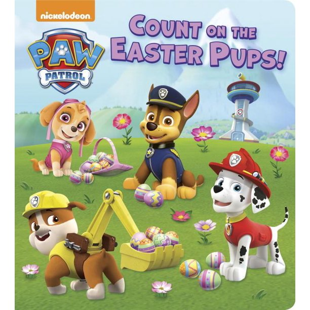 Count on the Easter Pups (Board Book)