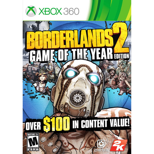 BORDERLANDS 2: GAME OF THE YEAR EDITION X360 SHOOTER