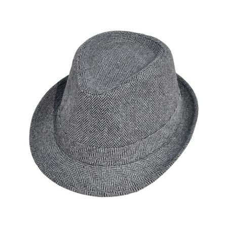 Vintage Sixties Style Wool Fedora Hats, - Hats Fedoras