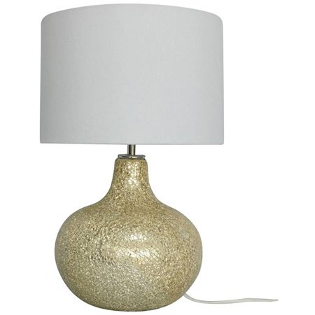 Champagne Crackle Glass Table Lamp - 5.5 lbs - image 1 of 1