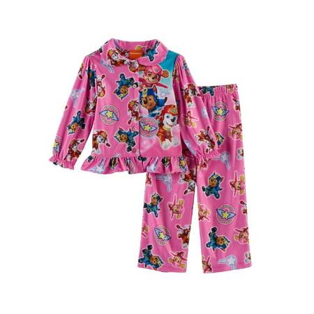 Toddler Girl Paw Patrol 2-pc. Skye, Marshall & Chase Top & Pants Pajama Set](Paw Patrol Halloween Pajamas)