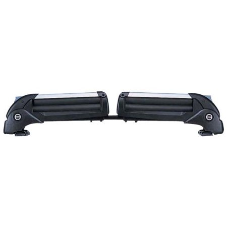 INNO Racks Dual Angle 6 Ski Racks 4 Snowboard Carriers For Bare Car Roofs UK723 ()
