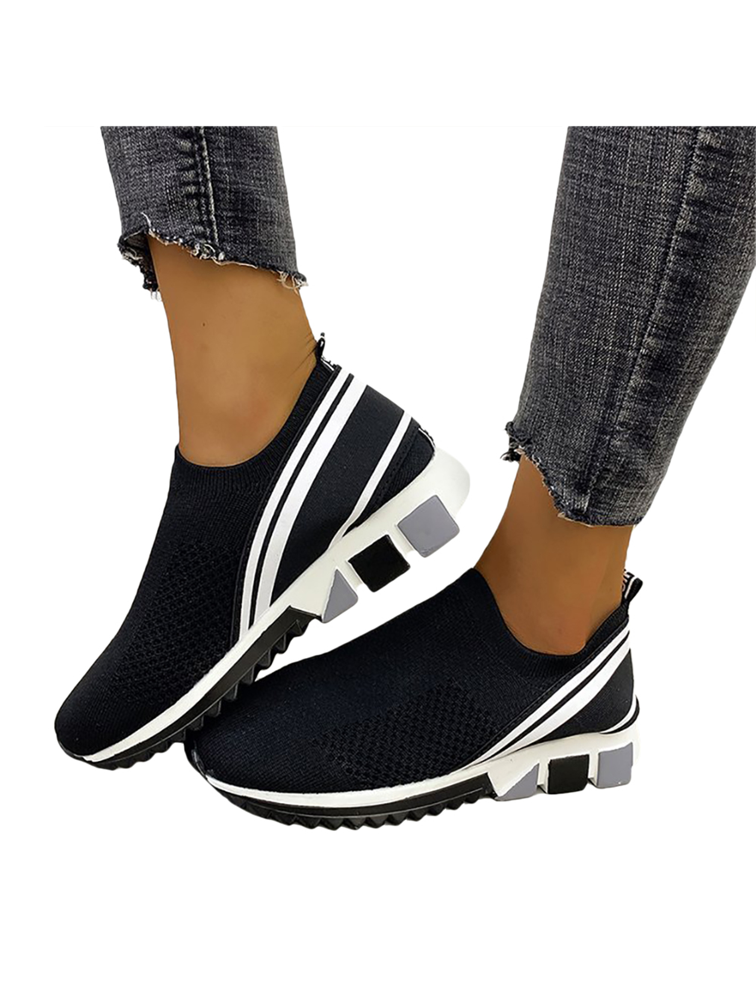 Womens Sports Walking Running Trainers