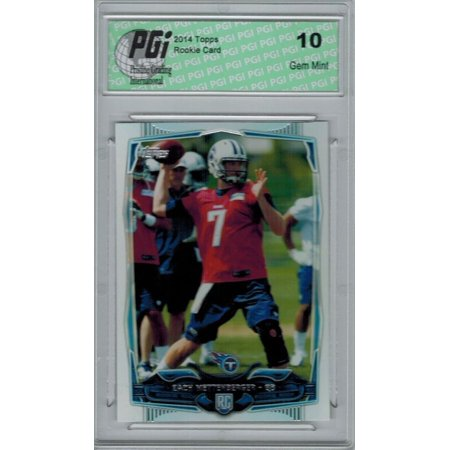 2014 Topps Football #359 Zach Mettenberger, Tennessee Titans Rookie Card PGI 10 ()