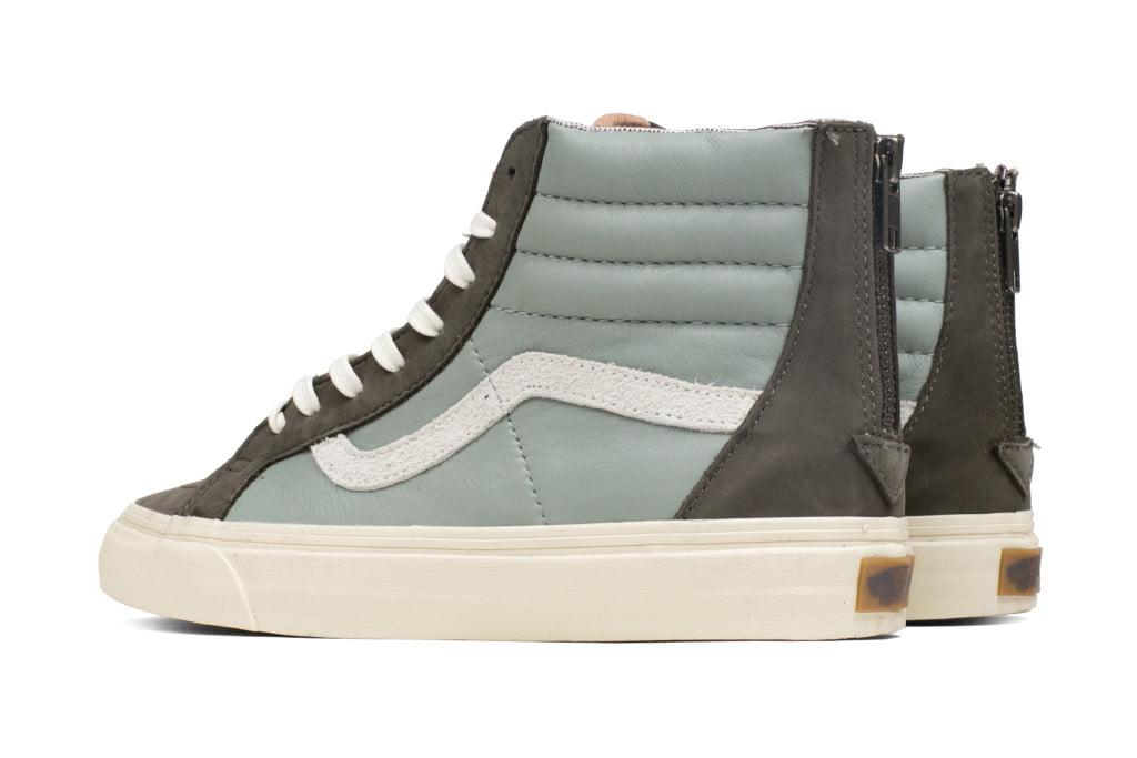 546f897ca97744 Vans - Vans Sk8-Hi Zip + Leather And Nubuck Suede Major Brown High-Top  Canvas Skateboarding Shoe - 10M   8.5M - Walmart.com