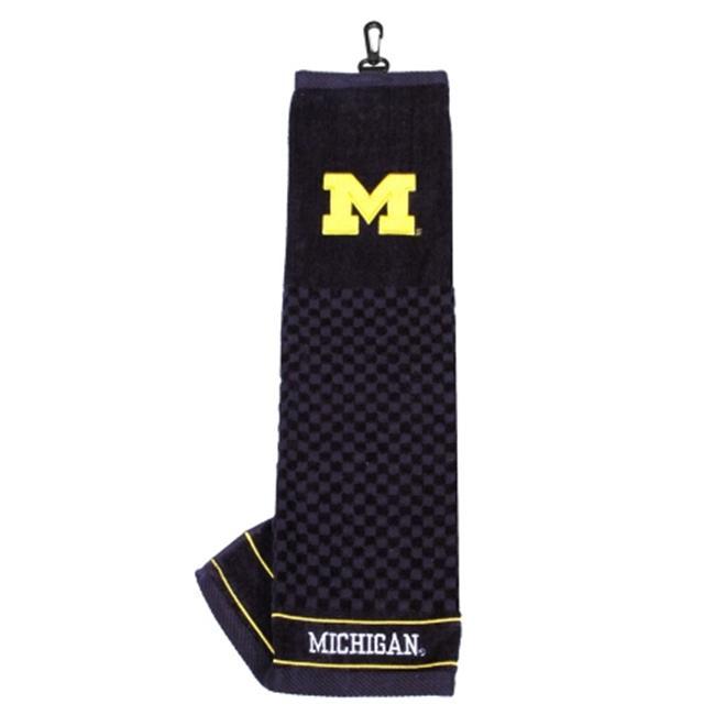 Team Golf 22210 Michigan Wolverines Embroidered Towel