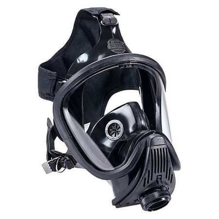 MSA Full Face Respirator,Push to Connect ,L 10037652
