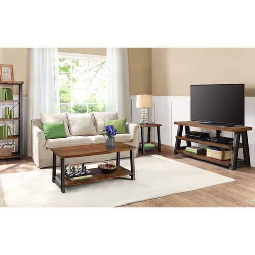 Better Homes And Gardens Mercer Coffee Table Vintage Oak Best Accent Tables