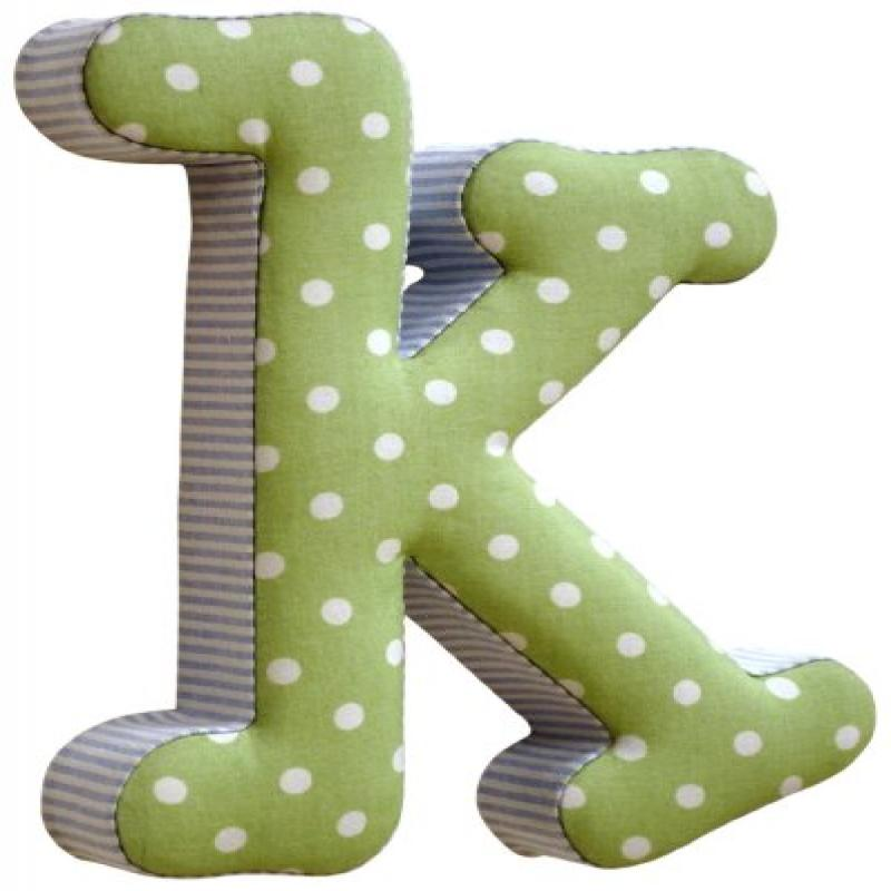 New Arrivals The Letter K, Blue and Green