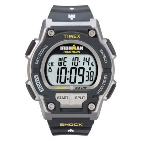 Men's Ironman Endure 30 Shock Full-Size Watch, Black Resin Strap